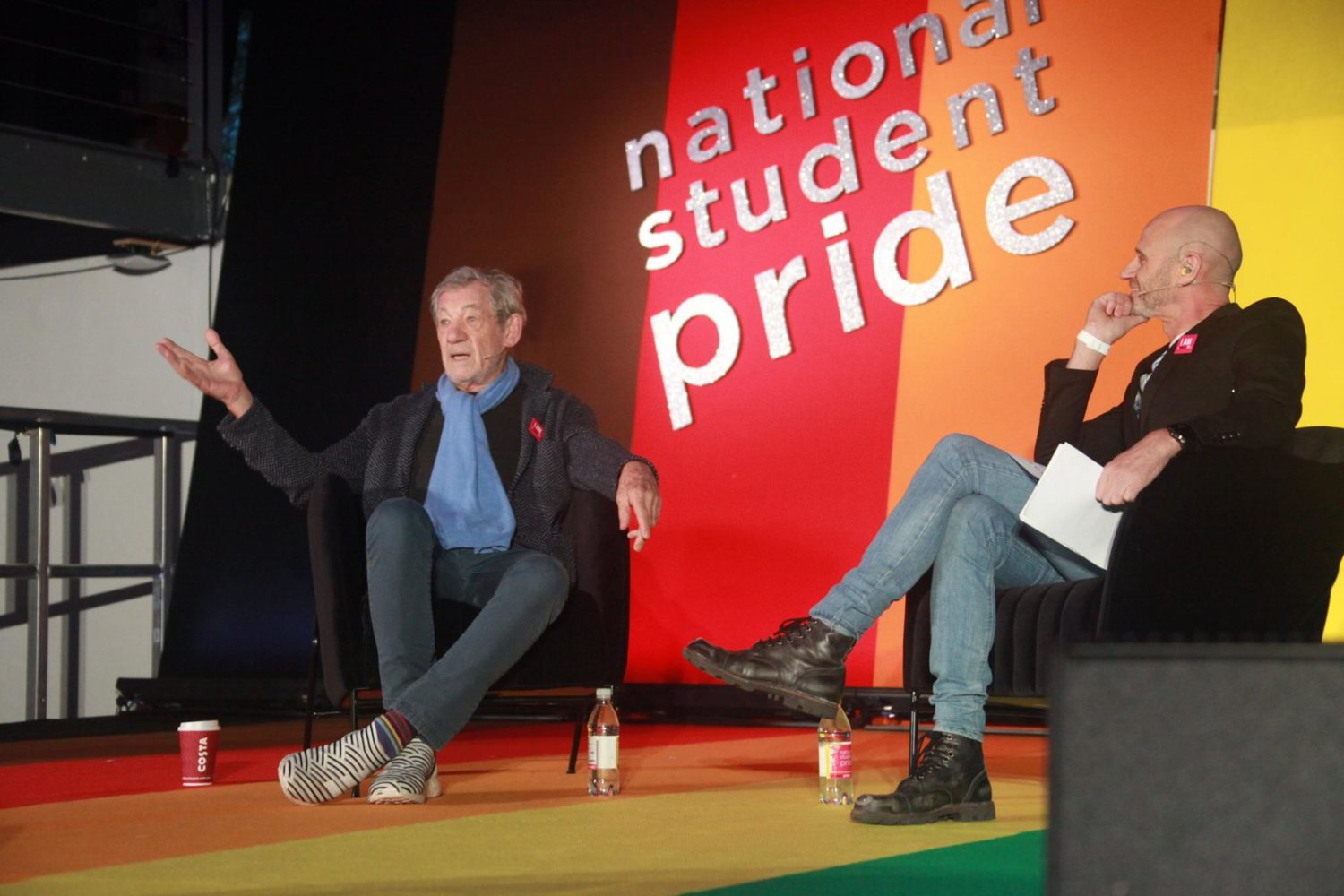 Ian McKellen talks chemsex and drugs at National Student Pride