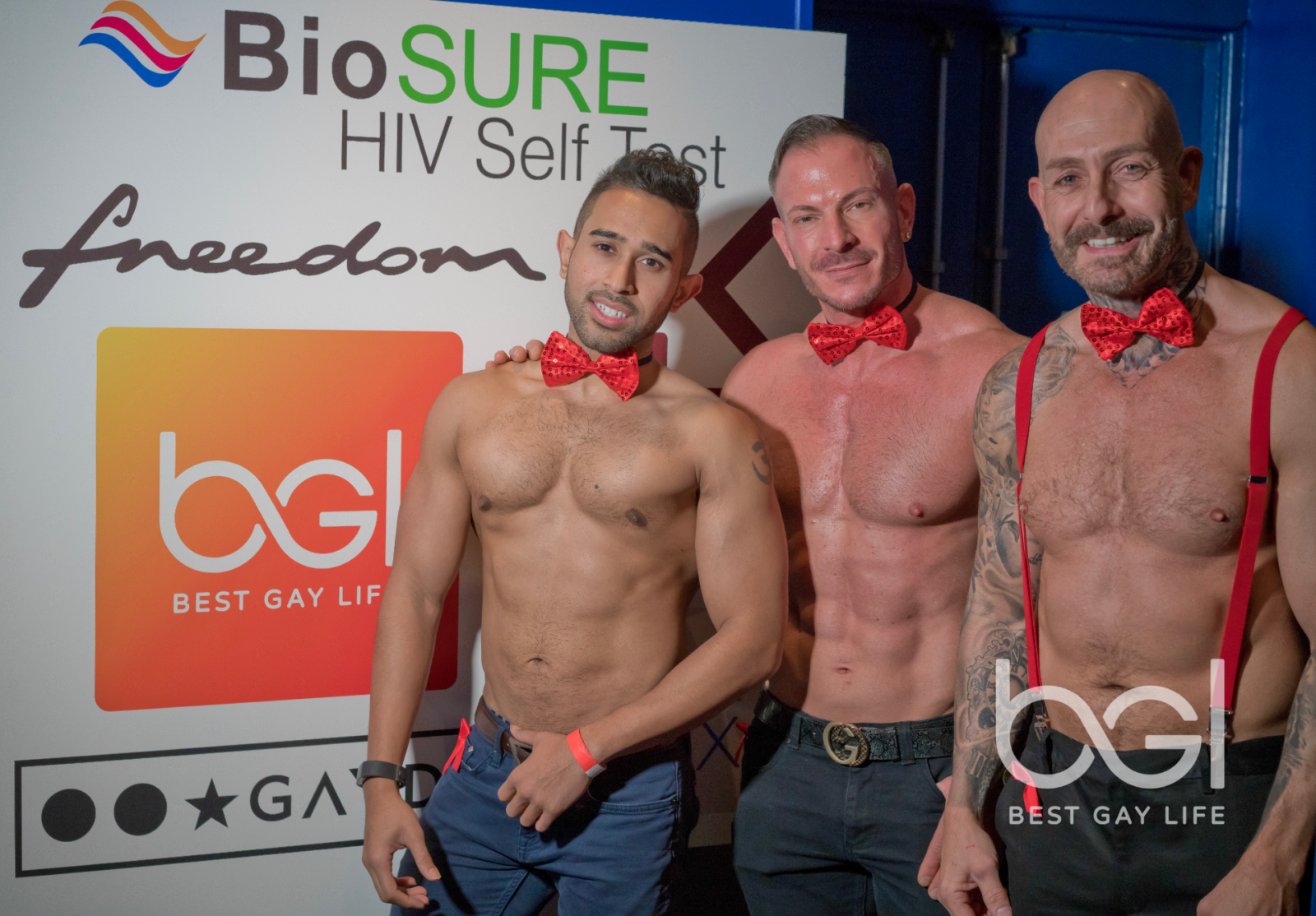 Best Gay Life, BioSure & DJ Keyth Know Your Status event